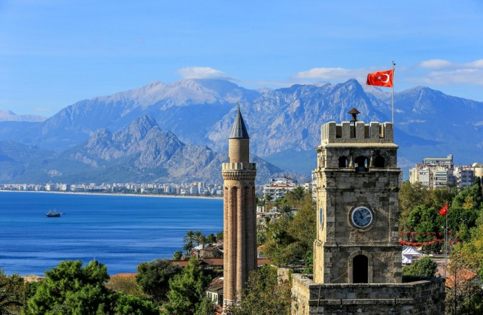 Antalya - The capital of the Teke (Ibex) Peninsula - Colors of Mediterranean